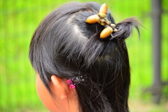 どんぐりの髪飾り-(パート4)