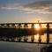 20130125_流れ橋の初日の出
