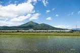 磐梯山と四季島と