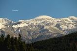 冠雪の白山