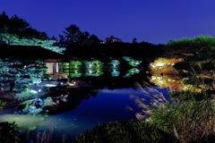 栗林公園 南湖