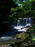 福井堰堤の滝