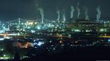 室蘭工場夜景 -潮見浜公園展望台より-