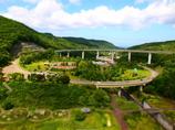円形道路風景