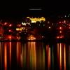 函館市湾岸夜景 -旧函館区公会堂と街並み-