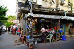 金物店 ヤンゴン