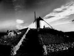 アンダルシアの風車