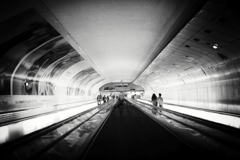地下道モンパルナス駅