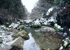 円原川冬景色 1