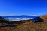 山小屋から観る景色
