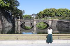 皇居二重橋