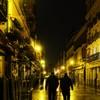 深夜の酒豪たち
