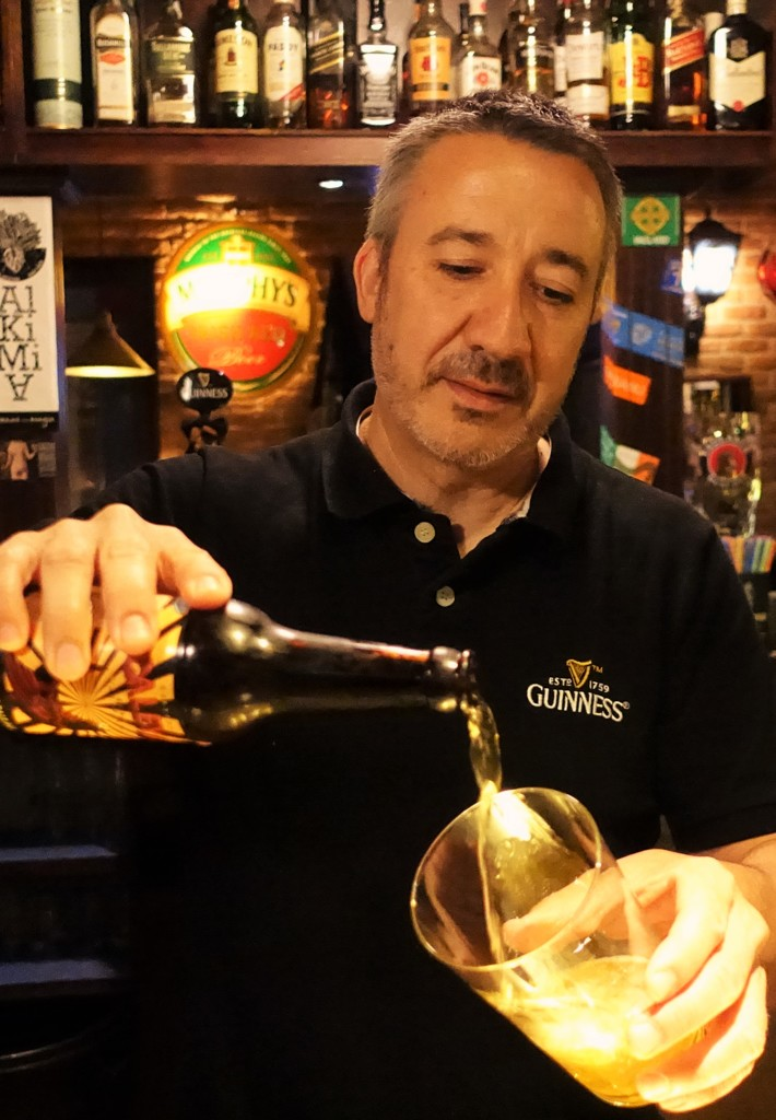 ビルバオのビールサーブ