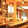暖かい雰囲気の喫茶店