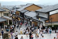 京都・清水の夏
