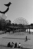 神戸東遊園地のランチタイム