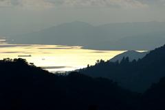 六甲山から臨む瀬戸の海
