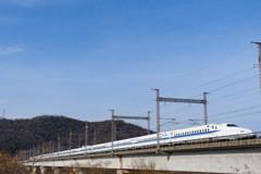青空と新幹線
