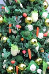 野菜のクリスマスツリー 2