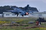 F-2のアフターバーナー