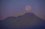 十五夜の普賢岳