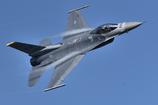 エアフェスタ予行のF-16