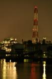 水面に映る工場に魅せられて