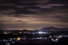 初冬夜明けの雲が。。。