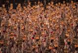 圧巻の千人灯籠踊り