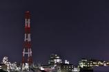 工場城下町からの夜景