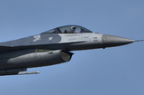 狙ったぞ!F-16!