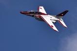 T-4 の展示飛行