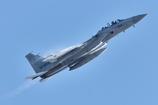 エアフェスタ予行のF-15