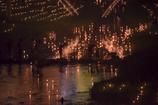 本明川を灯す23,000本の灯明