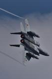 アフターバーナーのF-15