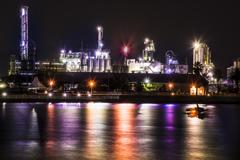 工場夜景に出会って。。。