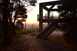 朝の展望台