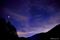 富士見台高原の夜
