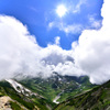 立山三山_沸き立つ雲