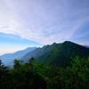 南アルプスの山々 2500Mからの眺望