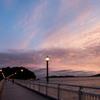 三河湾の夕暮れ