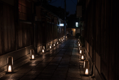幽玄な夜へ -東山花灯路ー