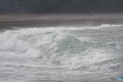 エメラルドグリーンの海②