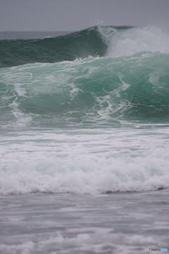 エメラルドグリーンの海①