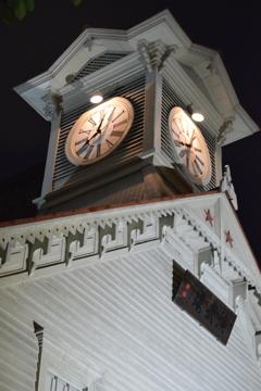札幌 夜の時計台