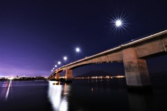黎明みなと大橋の夜景5