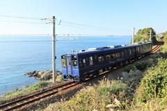 海の見える鉄道風景2