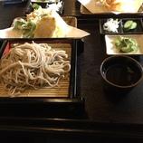 昼食はお蕎麦で(*^^*)