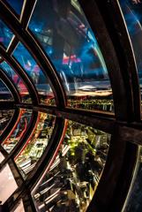 Beautiful Nightscape of Kyoto from UFO!