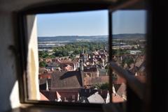 Window View of Rathaus von Rothenburg